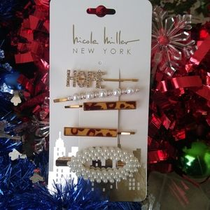 🎅 Trendy Pearl Hair Pins and clip